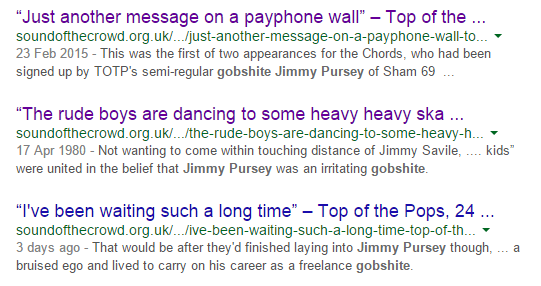jimmy pursey gobshite Google Search | Sound Of The Crowd