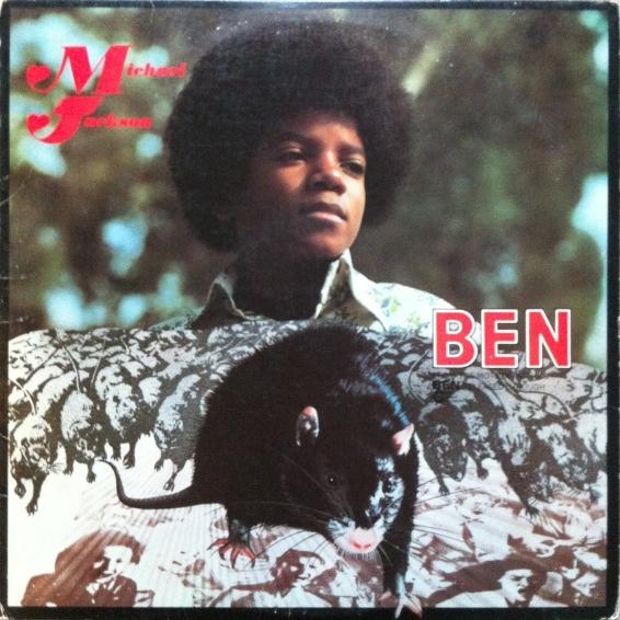 Michael Jackson's 'Ben' album in its original rat-infested sleeve