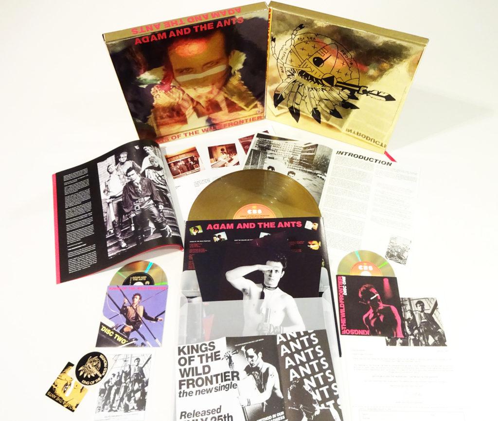 Kings of the Wild Frontier deluxe box set