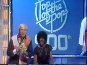 Jimmy Savile and Phil Lynott