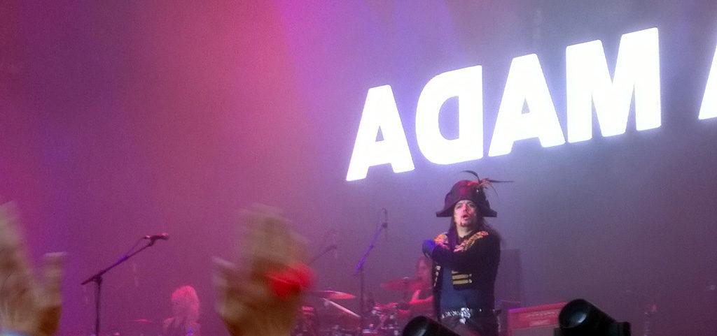Adam Ant at Rewind Scotland 2016