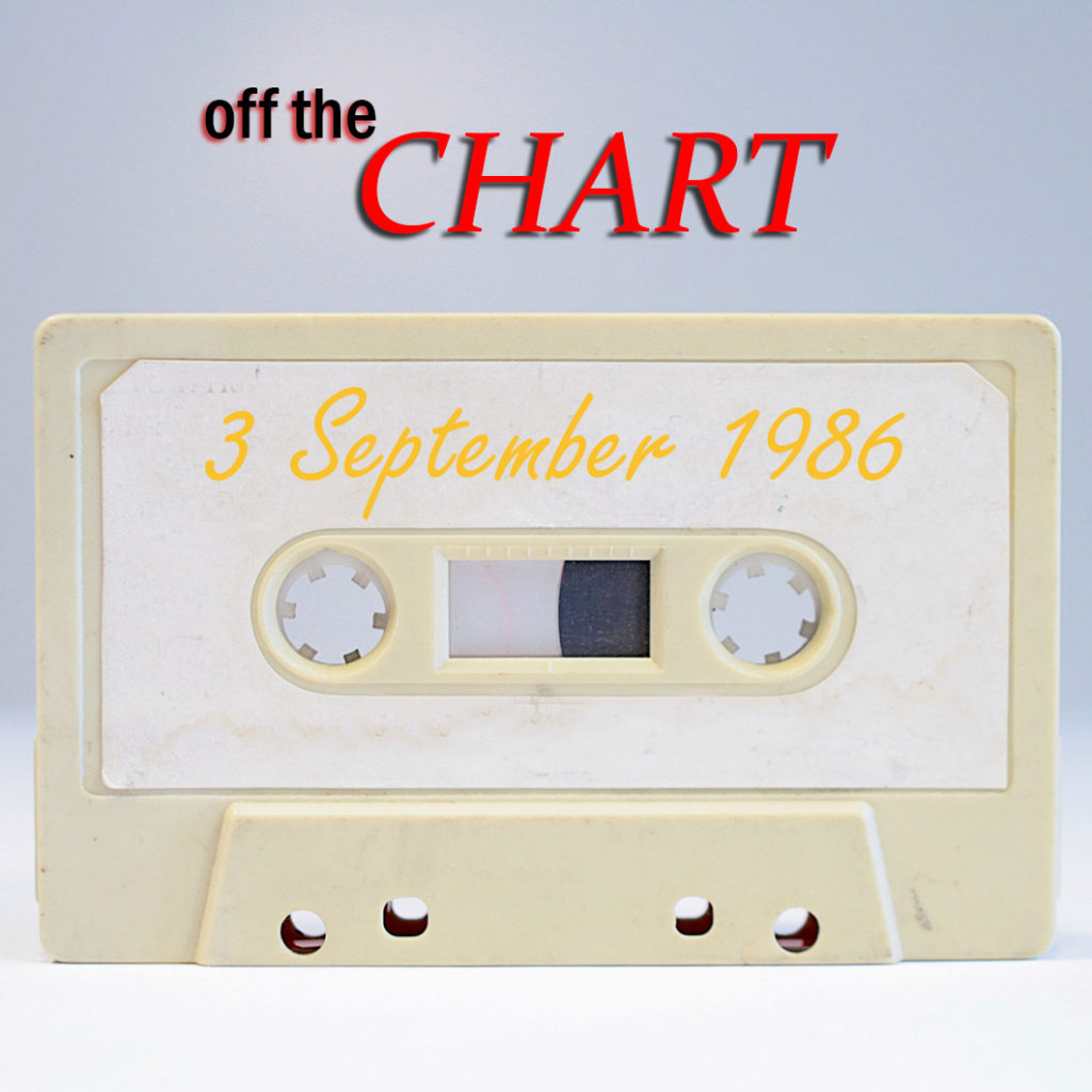Off The Chart: 3 September 2016