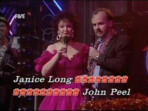 Janice Long & John Peel
