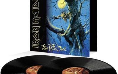 "Iron Maiden ""Fear of the Dark"" 2017 vinyl"