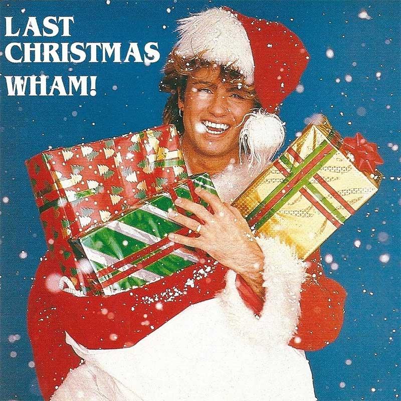 """Wham!'s """"Last Christmas"""" sleeve"""