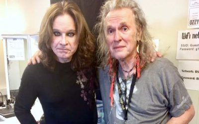 Ozzy Osbourne and Bernie Tormé reunited in 2018