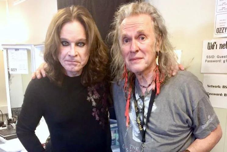 Ozzy Osbourne and Bernie Tormé reunited in 2018